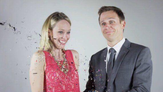 Mieux que les photos de mariage, ils se font faire un clip en slow-motion pour immortaliser leur union