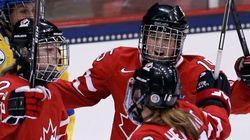 La hockeyeuse Mélodie Daoust vit son rêve d'enfance aux Jeux de