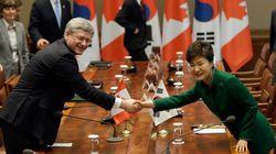 Un accord de libre-échange est conclu entre le Canada et la Corée du Sud