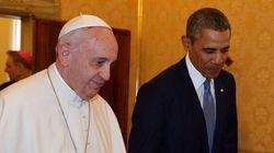 Une première rencontre entre le pape François et Barack