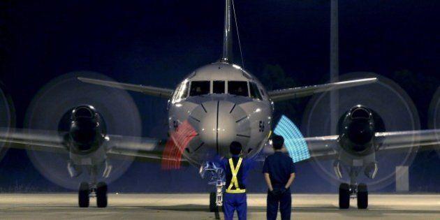 A Japan Maritime Self-Defense Force AP-3C Orion arrives back at RAAF Base Peace at Bullsbrook, some 35...