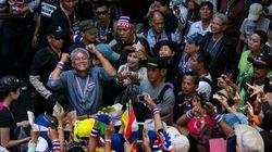 Crise politique en Thaïlande: la ville de Bangkok en partie