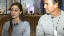 Joyeux Noël! Un père entend la voix de sa fille pour la première fois