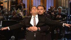 Leonardo DiCaprio joue la scène culte de Titanic à sa manière