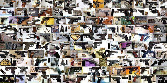 Armes, explosifs, os... le pire des saisies de 2013 dans les aéroports