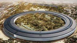 Le Campus futuriste d'Apple prend du retard