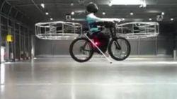 Vélo volant: notre futur mode de transport?