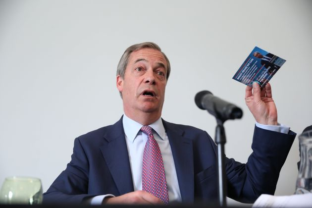 Nigel Farage's Brexit Party 'Recruiting Candidates For Next General