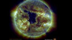 Il y a un gros trou dans le Soleil, mais il ne faut pas