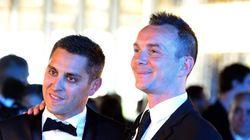 Les mariés français Vincent et Bruno invités d'honneur à la Gay Pride de Tel