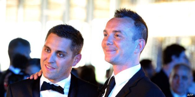Gay Pride de Tel Aviv: le premier couple homosexuel marié de France invité