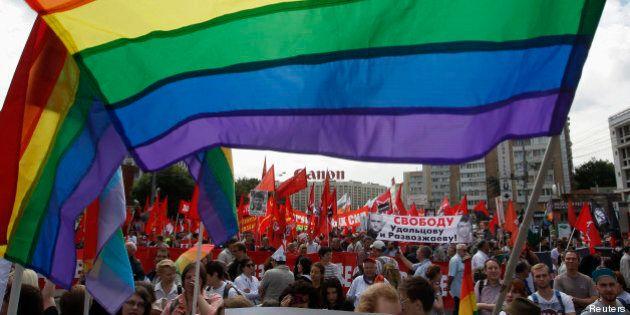 Homophobie : la Russie accueillera les sportifs homosexuels mais leur demande de