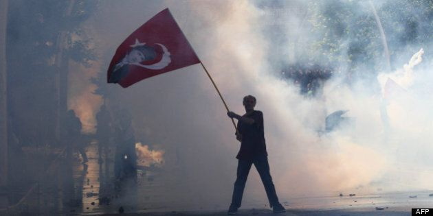 Les indignés de la place Taksim ébranlent le «modèle