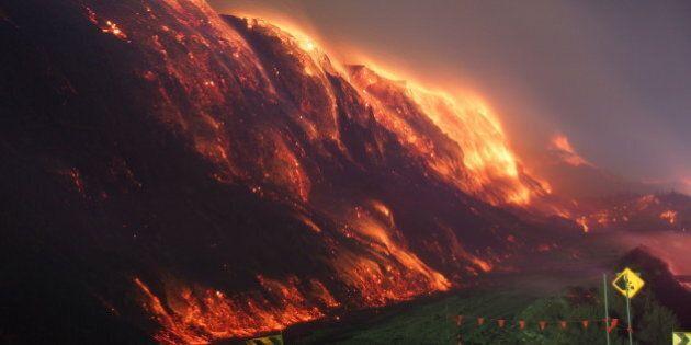 Un feu dans une mine de charbon en Australie prend des allures de
