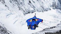 Un record de base jump comme cadeau d'anniversaire pour l'Everest
