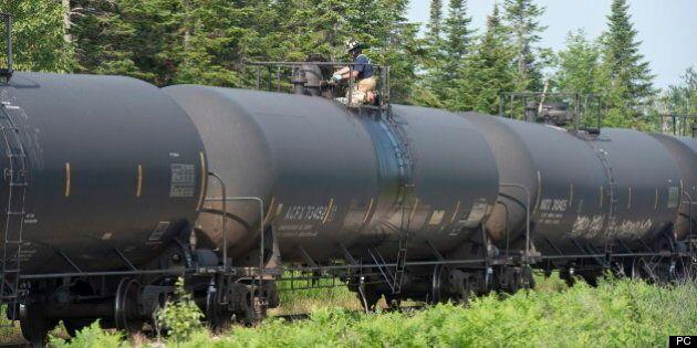 Le transport de pétrole par train a augmenté de 28 000 pour cent en cinq