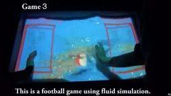 Ils transforment la surface de l'eau en écran tactile