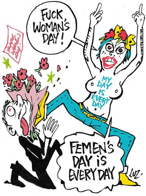 La journée de la femme, cette