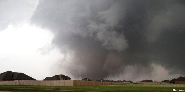 Tornade dans l'Oklahoma: la catastrophe en images