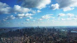 Vu du nouveau World Trade Center