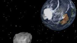 L'astéroïde qui a failli frapper la Terre