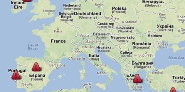 Zone euro: avec Chypre, la carte interactive des plans d'aide