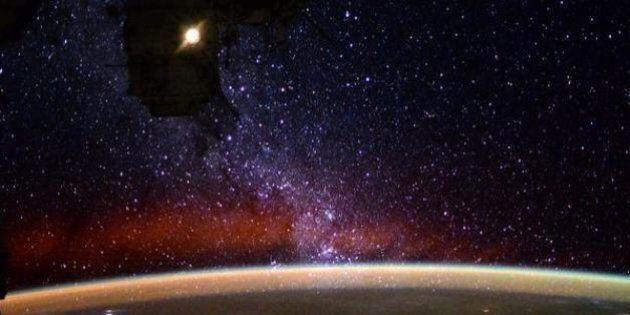 L'incroyable vue de la Voie lactée avec laquelle les astronautes de l'ISS s'endorment