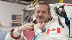 Chris Hadfield a touché