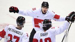 Sotchi 2014: Le Canada l'emporte à l'arraché contre la