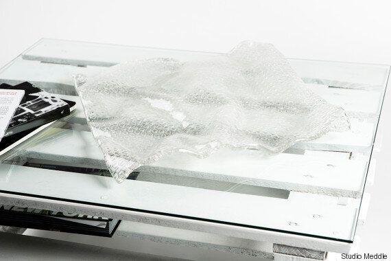 Deux Italiens ont créé un verre absolument étonnant inspiré du papier bulle