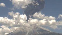 Une éruption volcanique comme si vous y étiez
