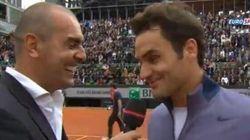 Le plus dur à Roland-Garros? L'entrevue d'après-match avec Pioline!