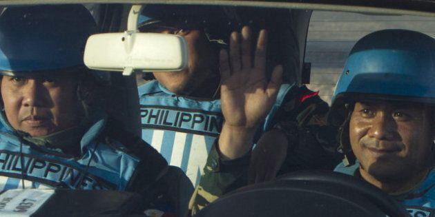 Les 21 observateurs philippins de l'ONU, capturés en Syrie, sont