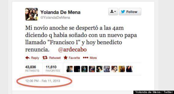 Espagne: il avait rêvé du pape François il y a un mois et l'avait dit sur