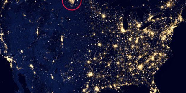 Pollution: les gaz d'une exploitation pétrolière visibles depuis l'espace