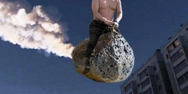 Pluie de météorites en Russie: les détournements pleuvent à leur tour