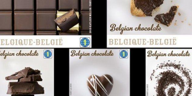 Du chocolat et des timbres: la Belgique lance des timbres-poste goût