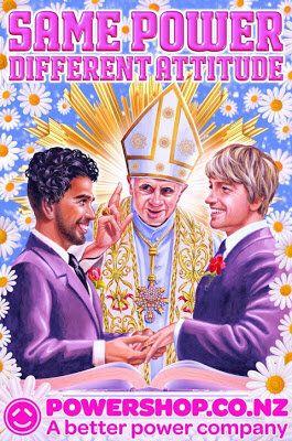 Habemus Publicitam: le pape et la