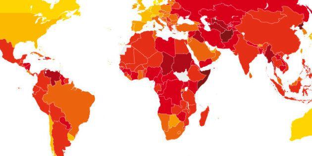 Classement mondial de la corruption : le Canada au 9e