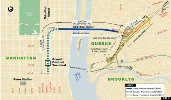 New York: un gigantesque tunnel creusé sous la «Grosse Pomme»