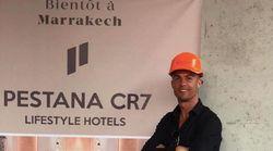 Cristiano Ronaldo suit les travaux de son hôtel à Marrakech