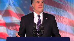 Mitt Romney chante sa défaite!