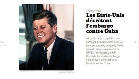 Entre les États-Unis et Cuba, retour sur 50 ans d'hostilité