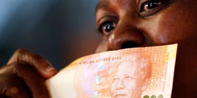 Nelson Mandela sur les nouveaux billets de banque sud-africains