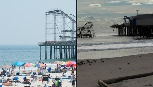 Avant/après l'ouragan Sandy