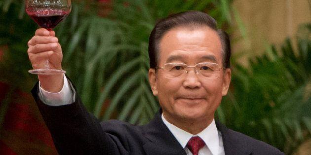 Chine: le premier ministre Wen Jiabao à la tête d'une fortune de 2,7 milliards de dollars selon le New...