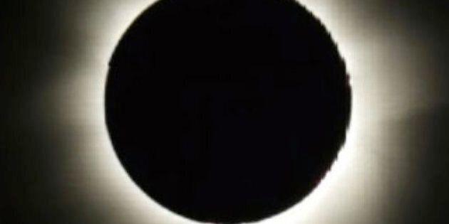 L'éclipse solaire totale en images