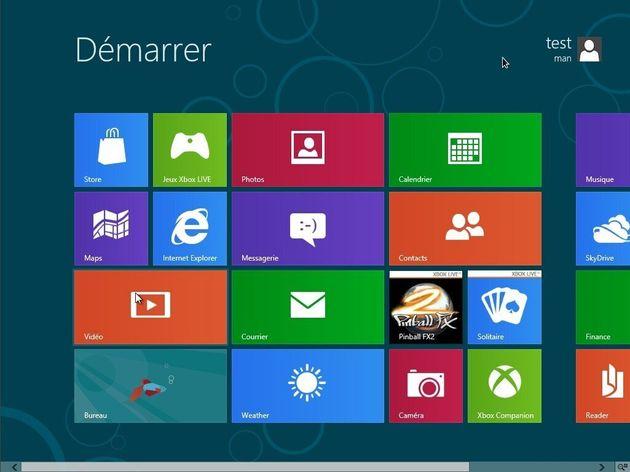 Windows 8: à quoi ressemble le système d'exploitation de