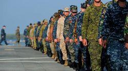 Des centaines de militaires canadiens sur les côtes