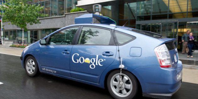 Google Car: après le Nevada, la Californie autorise la voiture sans conducteur